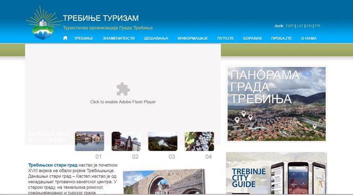 Loše internet prezentacije  trebinjskih institucija i kompanija