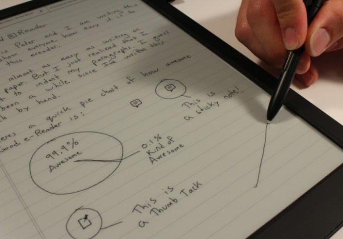 VIDEO: Ovo je tablet koji će bukvalno izbaciti papir iz upotrebe