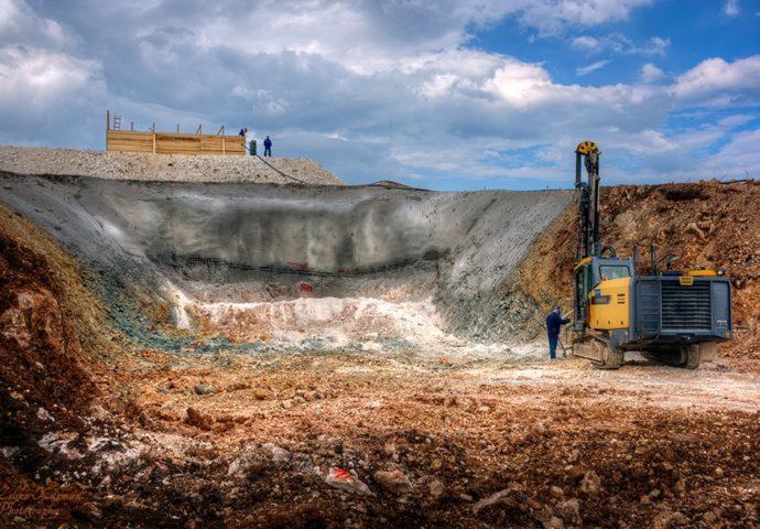 HE Dabar: Počeli radovi na ulaznoj građevini u tunel