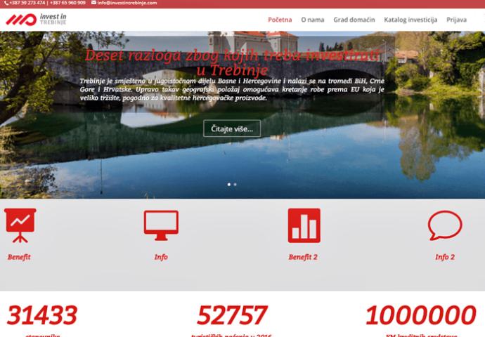 Uskoro veb sajt sa predstavljanjem razvojnih potencijala Trebinja