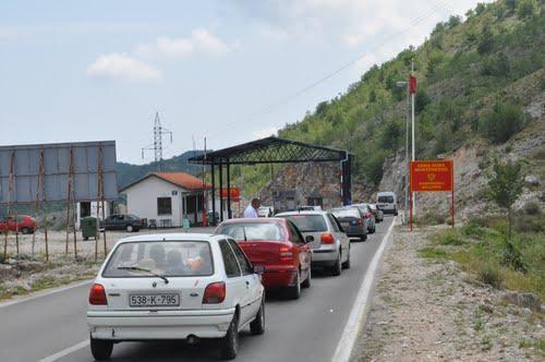 Obustava saobraćaja na Sitnici