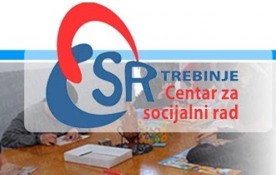 Centar za socijalni rad Trebinje: Nabavka materijala