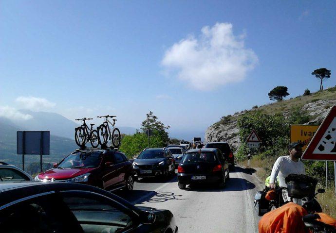 Od Trebinja do Dubrovnika brže biciklom nego autom