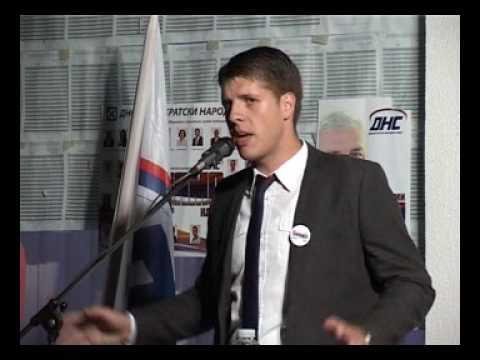 Bojan Šapurić kandidat DNS- a za Parlamentarnu skupštinu BIH