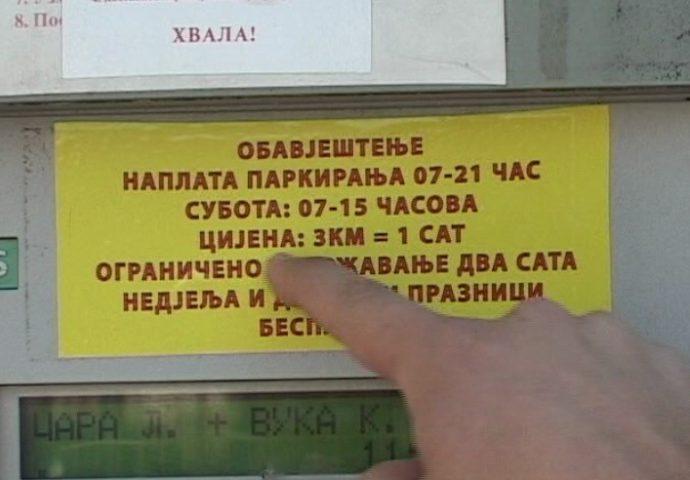 VIDEO: Cijena parkinga u Trebinju šokira posjetioce
