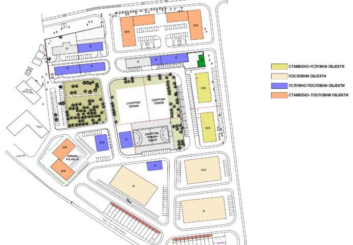 U centru Nevesinja niče stambeno-poslovni kompleks na 53.000 m2- na prostoru bivše kasarne predviđen i sportsko- kulturni centar