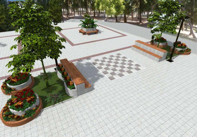 FOTO: Ovako bi trebalo da izgleda rekonstruisani gradski park