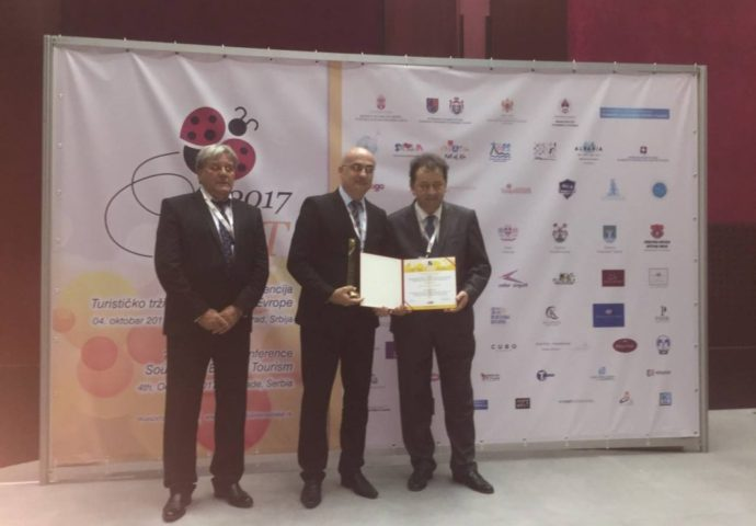 "Trebinju nagrada ""Brend leader 2017  aword"""