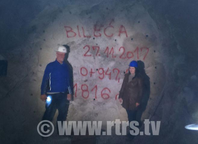 Probijen tunel ispod Bileće