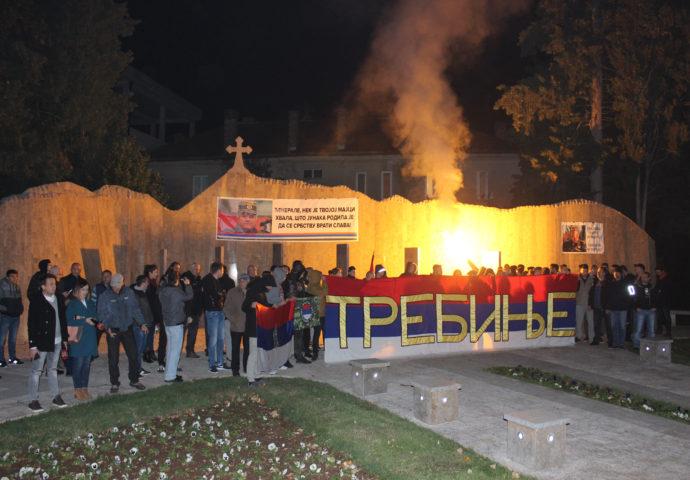 FOTO: I iz Trebinja poruke podrške Mladiću