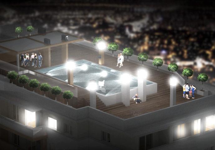 EKSKLUZIVNO : Čisti luksuz u srcu grada – U Trebinju se gradi stambeno poslovini kompleks  sa bazenima, ekskluzivnim trgovinama… (foto)