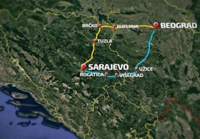 Delegacija Srpske sutra na razgovorima o izgradnji brze ceste Sarajevo  – Beograd