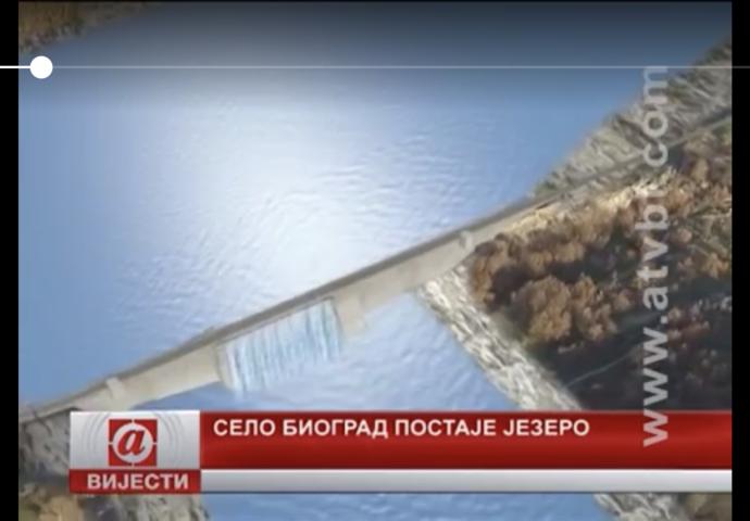 VIDEO: Nevesinjsko selo Biograd postaje jezero