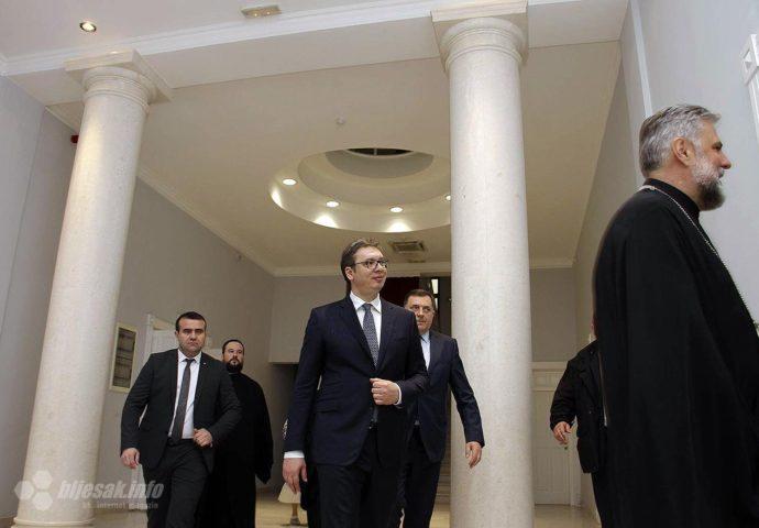 Vučić i Dodik obećali: Saborna crkva u Mostaru biće obnovljena do 2020. godine