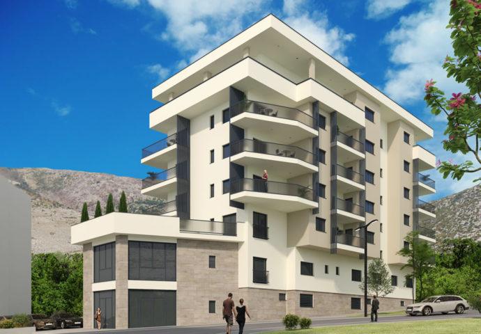 """Počela  gradnja i prodaja stanova u trećem objektu stambeno – poslovnog kompleksa """"Centar"""""""