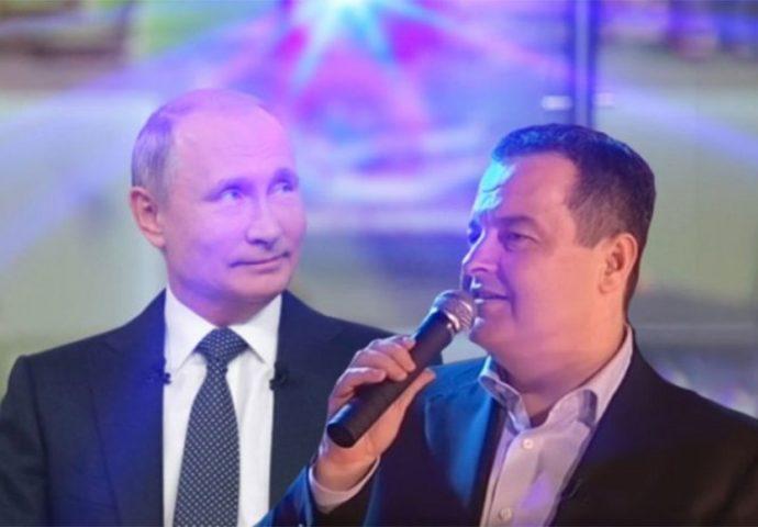 Dačić Putinu otpjevao dvije pjesme- evo i koje