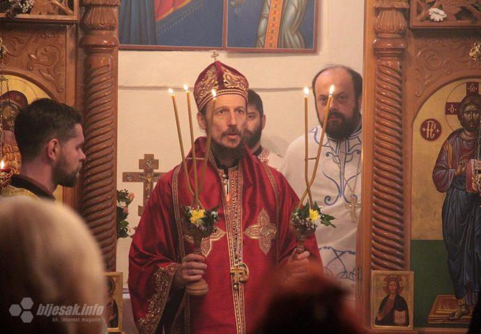 Vladika Dimitrije služio za Badnji dan u Mostaru
