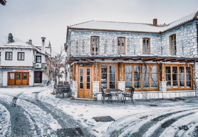 Foto razglednica: Trebinje pod sniježnim pokrivačem