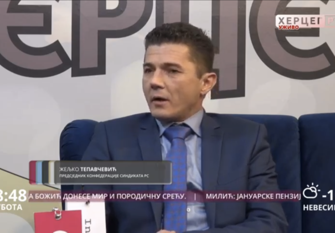 Tepavčević: Radnici da se bore za svoja prava, a ne privilegije poslodavaca