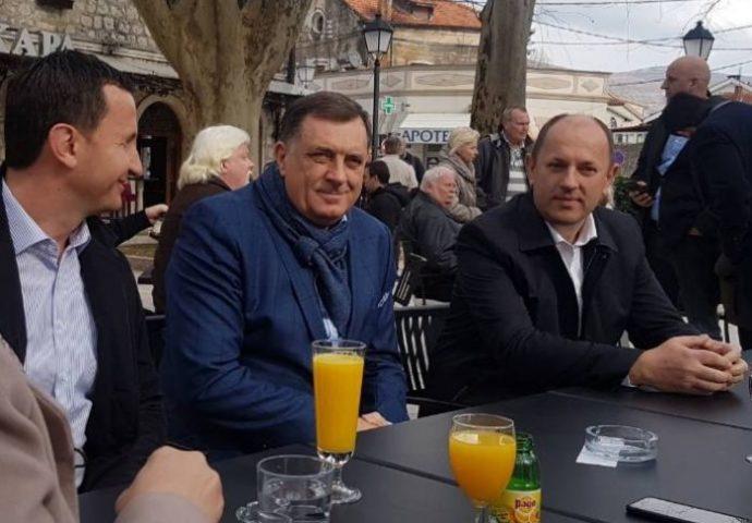 Dodik u Trebinju: Očekuje se najubjedljivija izborna pobjeda do sada