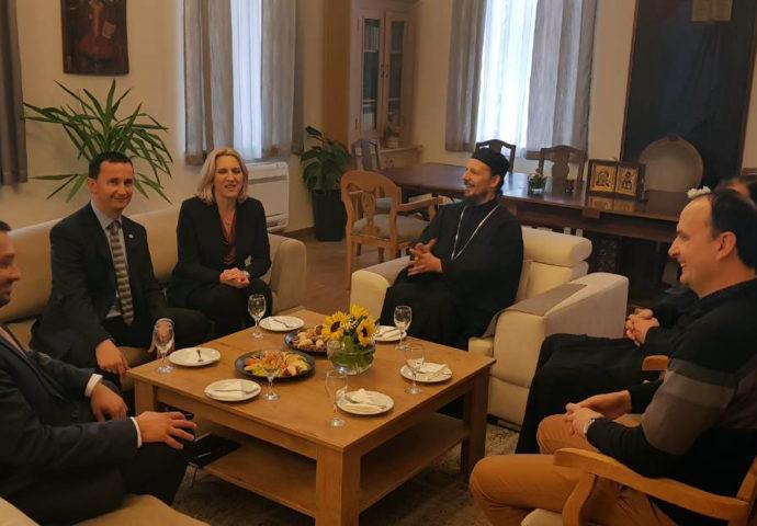 Cvijanović se sastala sa vladikom Dimitrijem