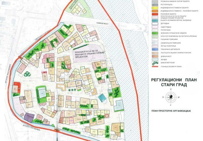 Raspisan tender za izradu glavnog projekta kanala oko Starog grada