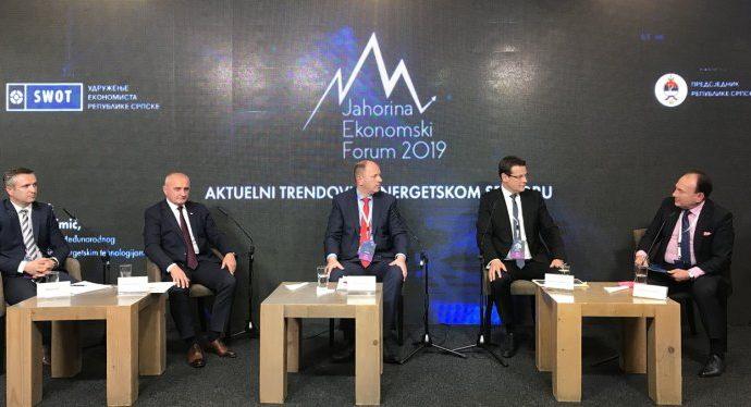 Petrović na Jahorina Ekonomskom forumu: Proizvodnja struje iz obnovljivih izvora glavni prioritet