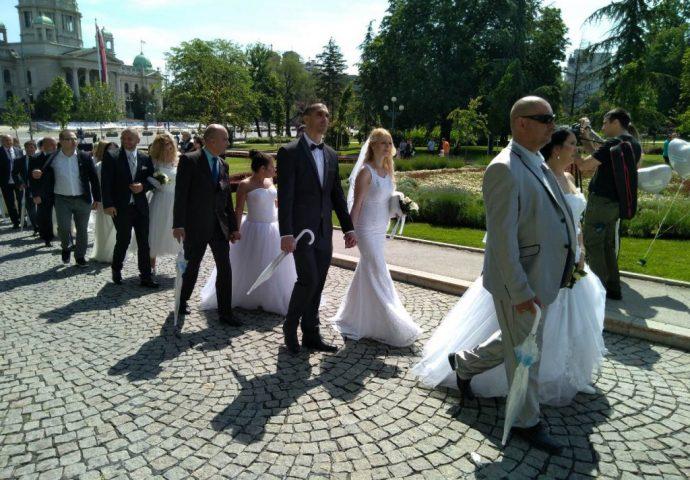 I Hercegovka na kolektivnom vjenčanju u Beogradu