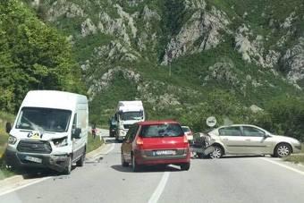 Saobraćajka kod Mostara – saobraćaj se odvija otežano