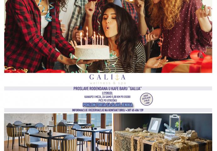 Priredite najbolju rođendansku žurku: uz poklon tortu i besplatan zakup u Galiji, čekaju vas i brojna iznenađenja