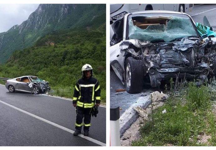Obustavljen saobraćaj: Jedna osoba poginula u teškoj saobraćajnoj nesreći na magistralnom putu kod Mostara
