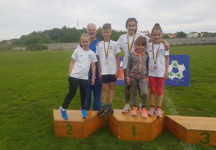 Šest medalja za male atletičare iz Trebinja
