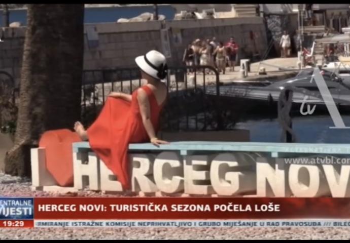 VIDEO: Loš početak turističke sezone u Herceg Novom