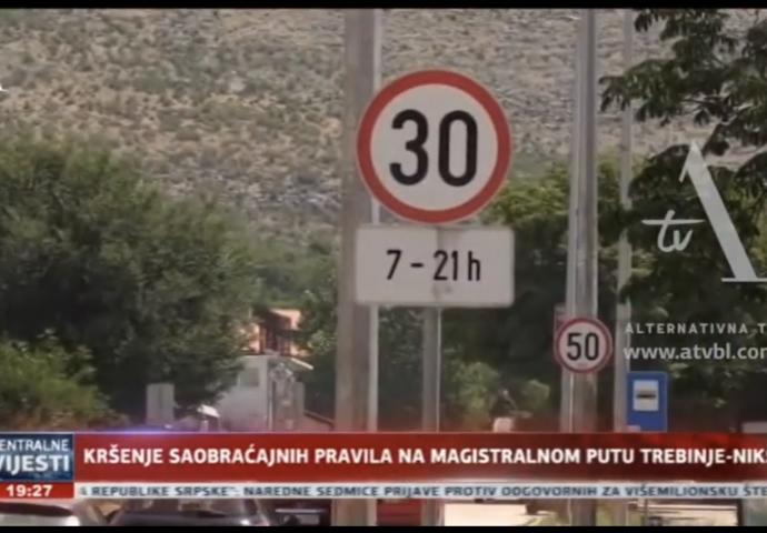 VIDEO: Kršenje saobraćajnih pravila ja magistralnom putu Trebinje-Nikšić