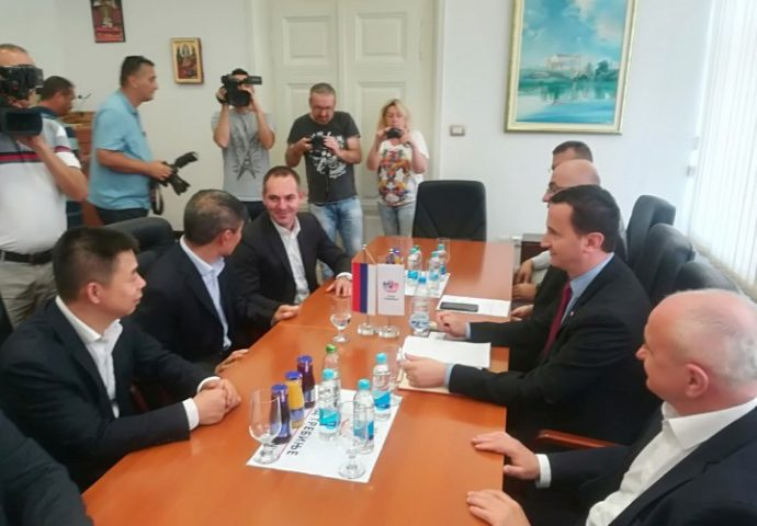Đokić s kineskim investitorima u Trebinju