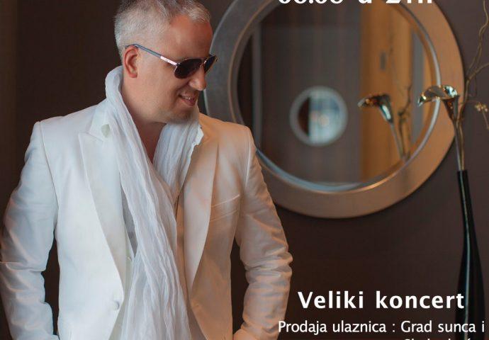 U pretprodaju ulaznice za koncert Saše Matića po duplo jeftinijim cijenama