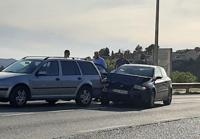 Saobraćajna nezgoda na izlazu iz Trebinja