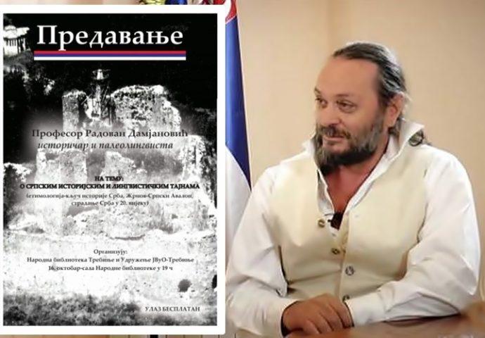 Narodna biblioteka: Predavanje o srpskim istorijskim i lingvističkim tajnama