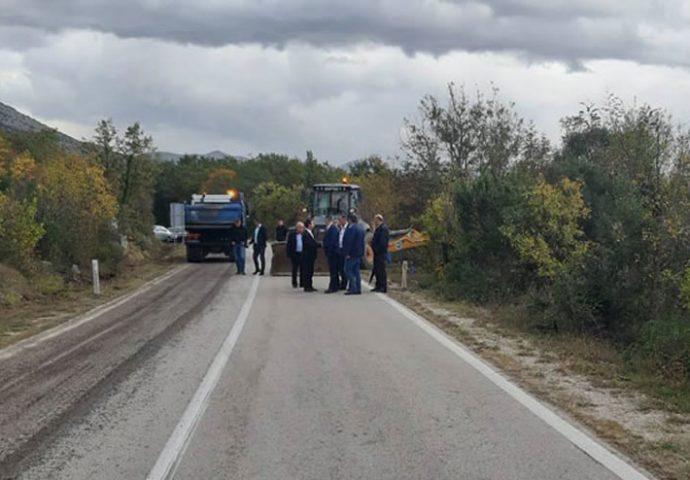 Ozvaničen početak radova na magistralnom putu Trebinje-Ljubinje