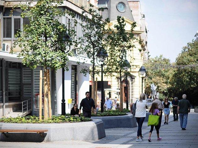 Hercegovački kamen na beogradskim trgovima i ulicama