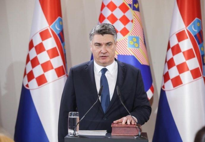 Zoran Milanović položio zakletvu- Evo koje je poruke posalao u svom prvom predsjedničkom obraćanju