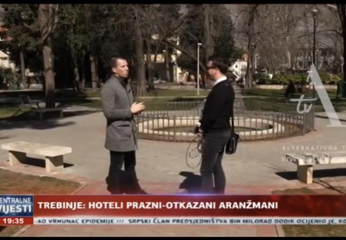 VIDEO: Korona ispraznila trebinjske hotele