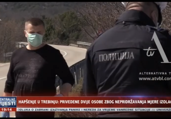 VIDEO: Hapšenje u Trebinju