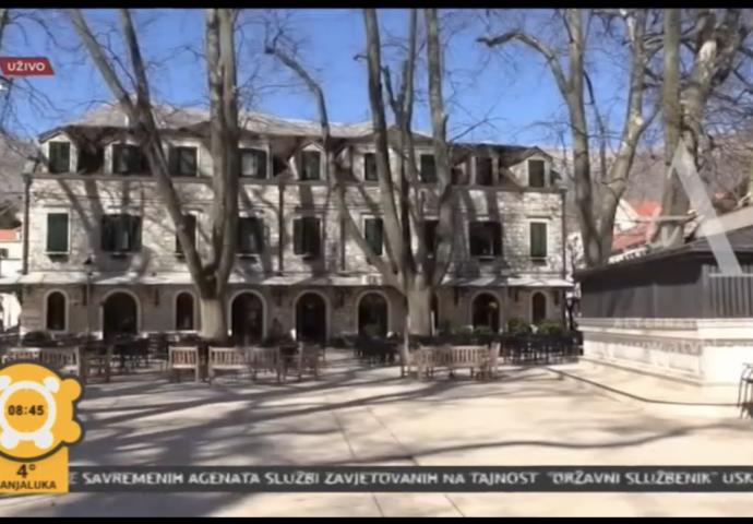 VIDEO: Kako izgleda Trebinje u doba korone?