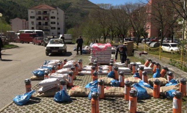 Poljoprivredne pakete i pomoć dobilo 770 Trebinjaca