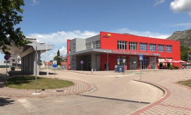 Bokada autobuske stanice u Trebinju