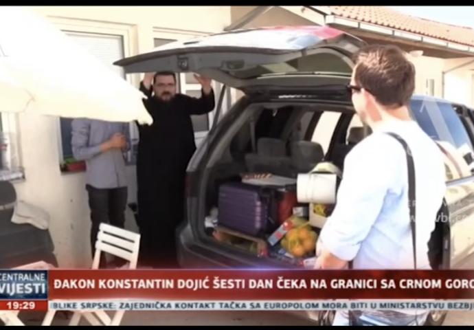 VIDEO: Danima na granici – Đakon SPC sa maloljetnim sinom ne može kući u Crnu Goru