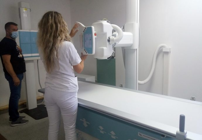 Dom zdravlja Bileća  dobio novi rendgen aparat