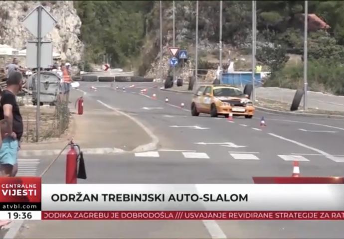 VIDEO: Održan trebinjski auto-slalom