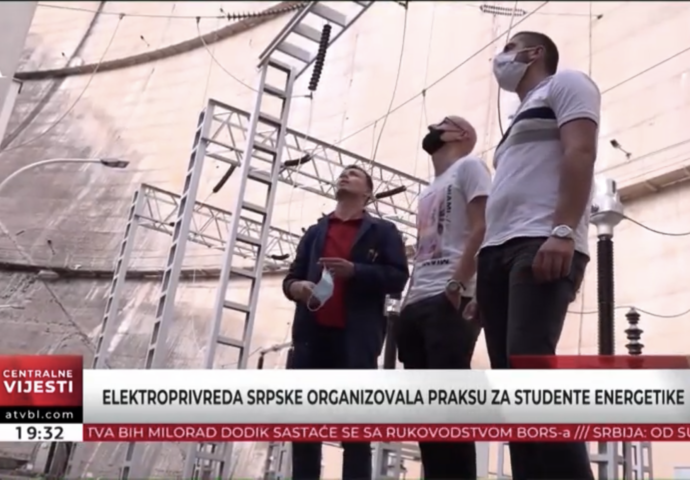 VIDEO: Kako izgleda obuka studenata u elektrani